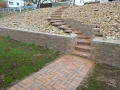 Paved Walkway and Staircase