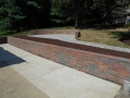 Walkway and mulch