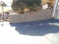 Retaining Wall w/ Mulching
