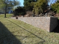 Long Retaining Wall