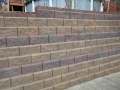 Brick High Retaining Wall