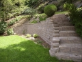 Retaining wall with Staircase