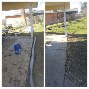 pittsburgh french drain installation