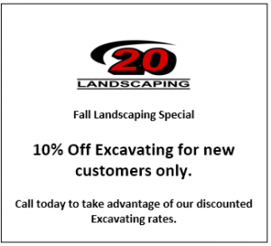 10 Percent of Excavating for New Customers