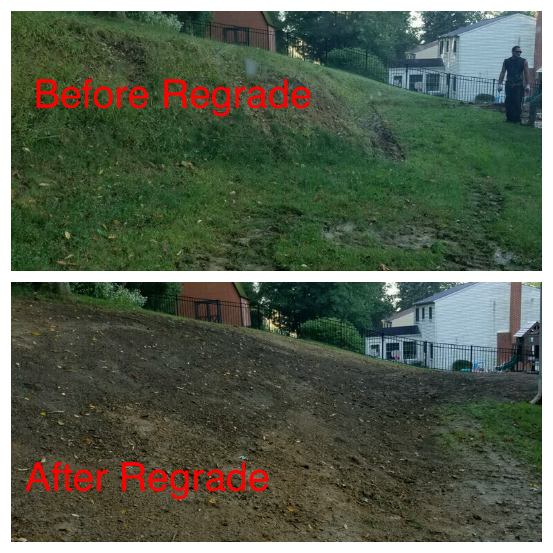 Before And After Regrade
